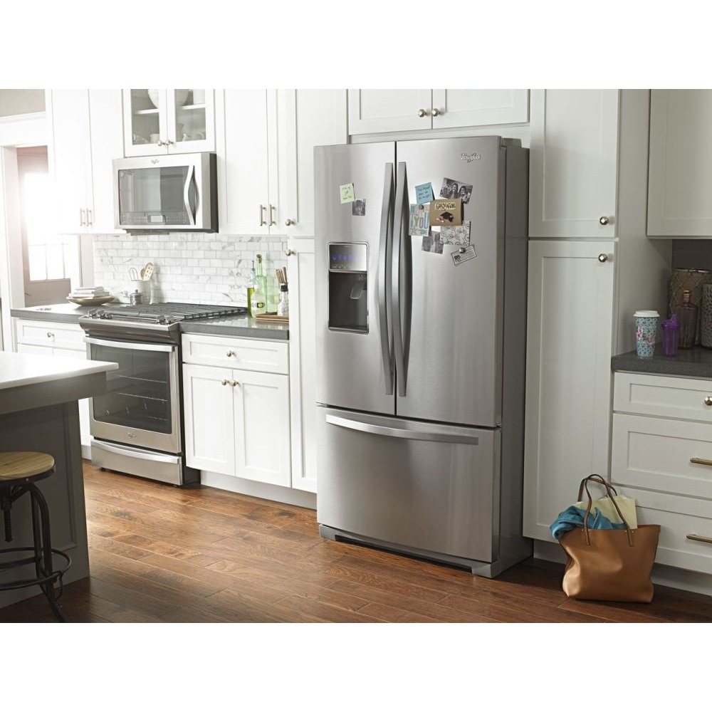 ge kitchen appliances package deals with Whirlpool Wrf757sdem on Ge Cafe Cgs990setss likewise Whirlpool Wrf757sdem together with Electrolux Icon E23bc78ips also Ge Jgs750eefes in addition Lg Lcrt2010bd.