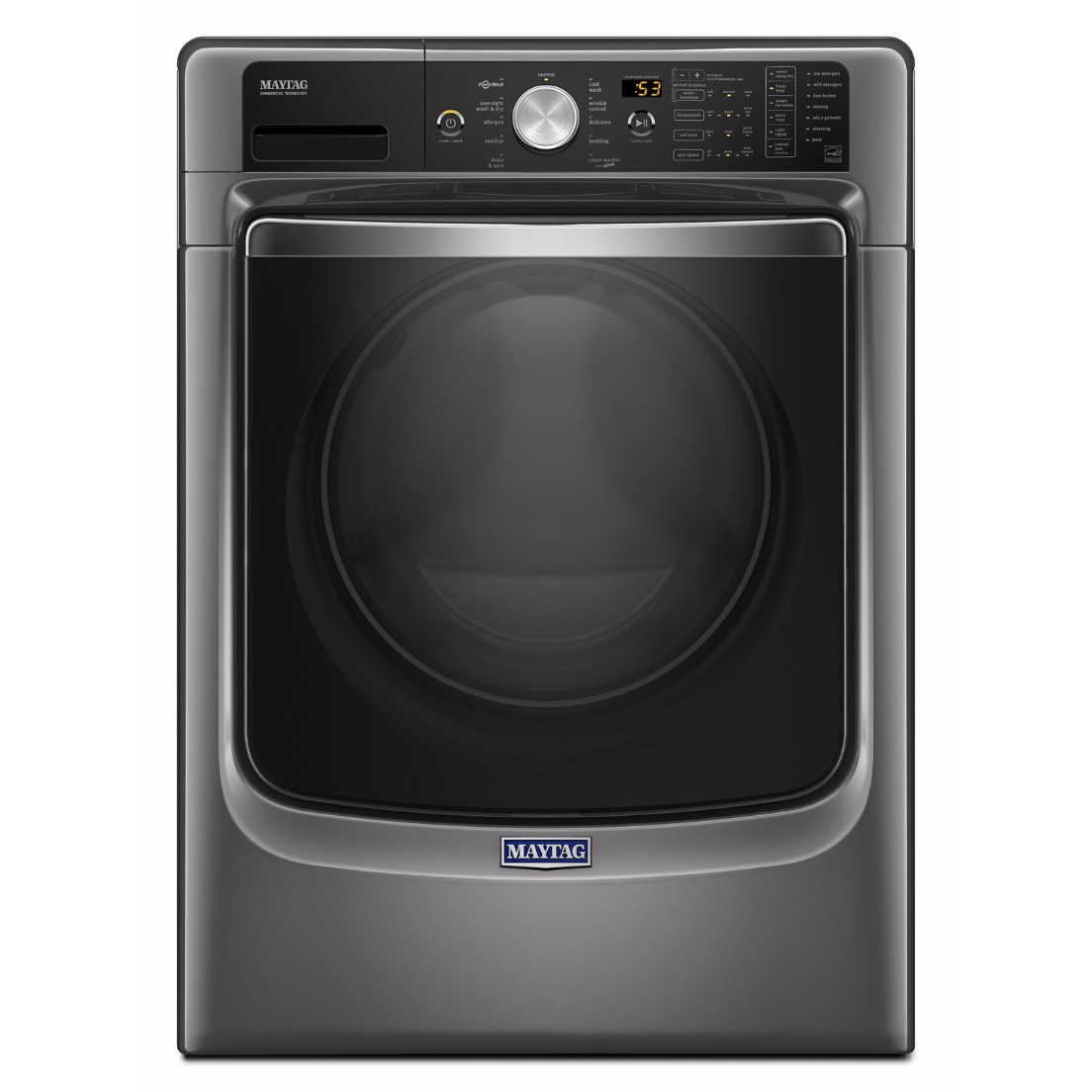 Mhw8200fc Maytag 27 Quot 4 6 Cu Ft Front Load Washer Steam