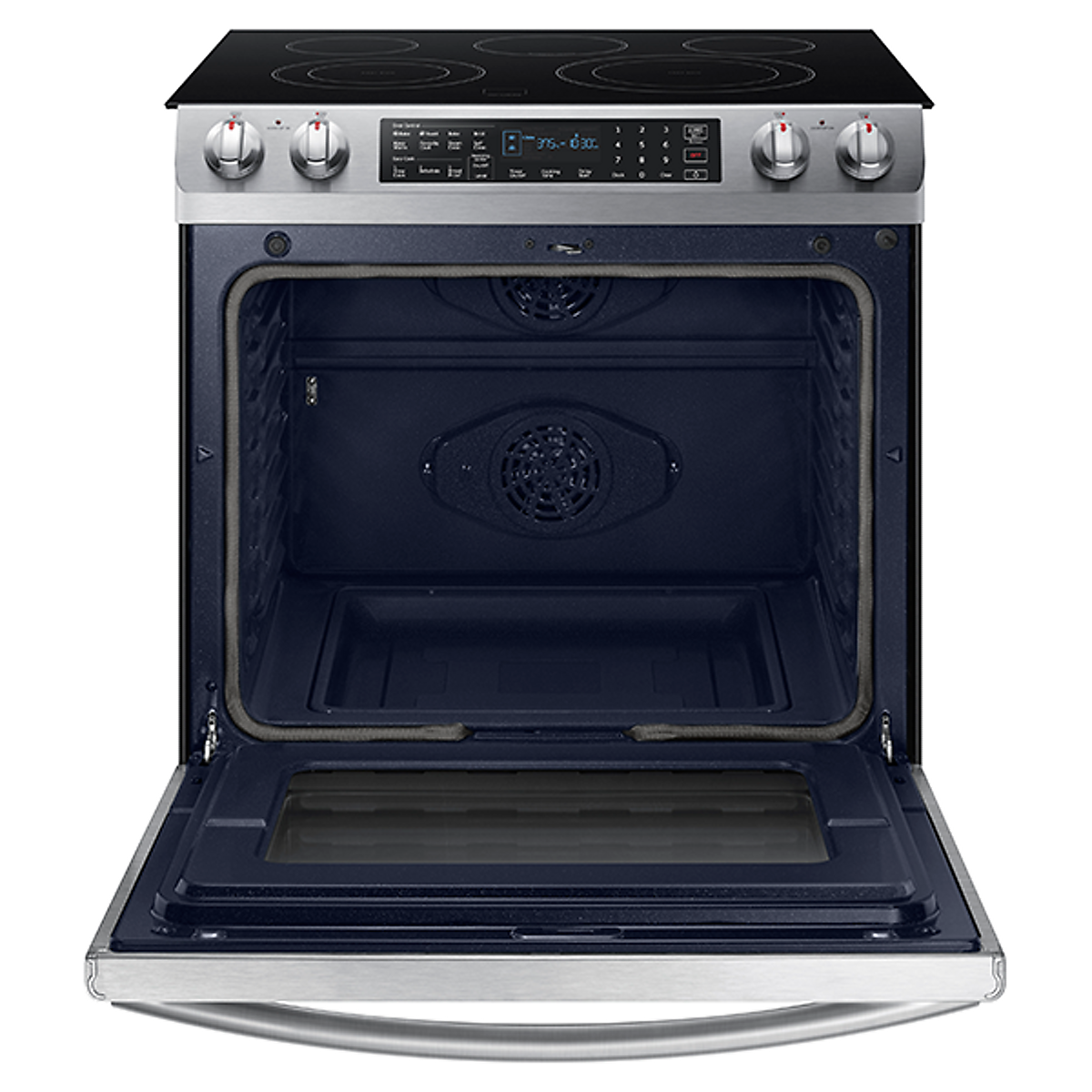 Ne58k9430ss Samsung 30 Quot Slide In Electric Range