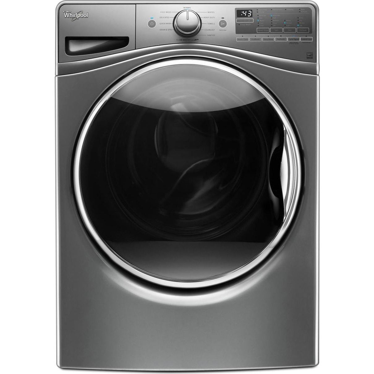 Wfw90hefc Whirlpool 27 Quot 4 2 Cu Ft Front Load Washer Steam