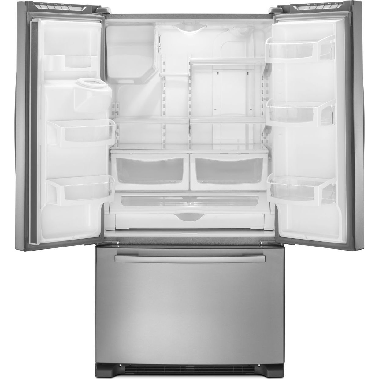 Afi2539erm Amana 25 Cu Ft French Door Refrigerator