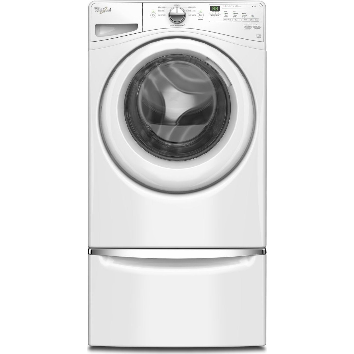 Wfw75hefw Whirlpool 4 5 Cu Ft Front Load Washer