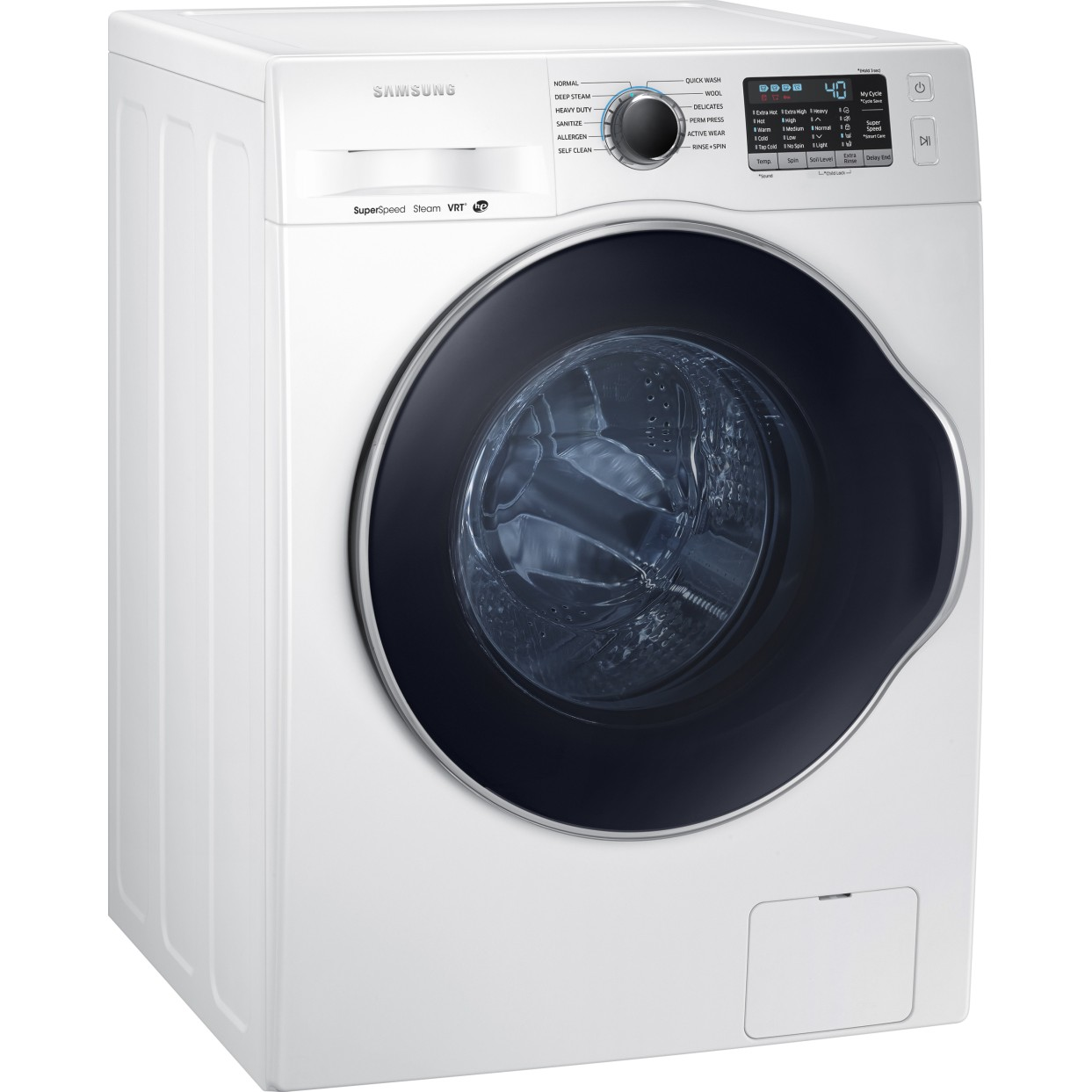 Ww22k6800aw Samsung 2 2 Cu Ft 24 Quot Front Load Washer