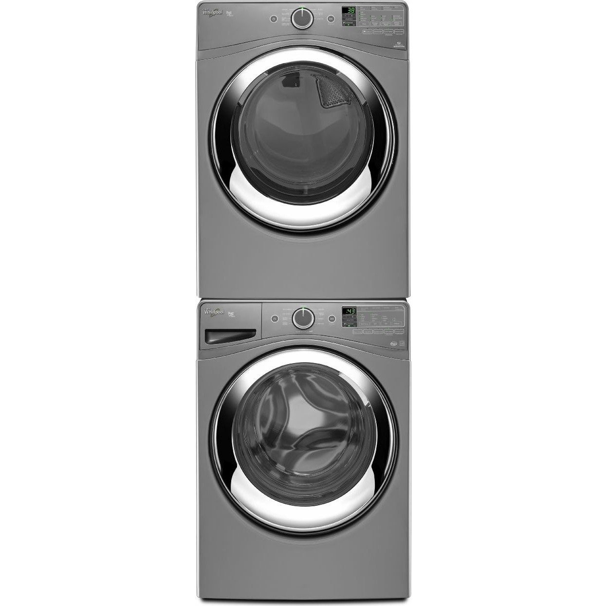 Whirlpool Wfw87hedc Front Load Washer Amp Wgd87hedc Gas