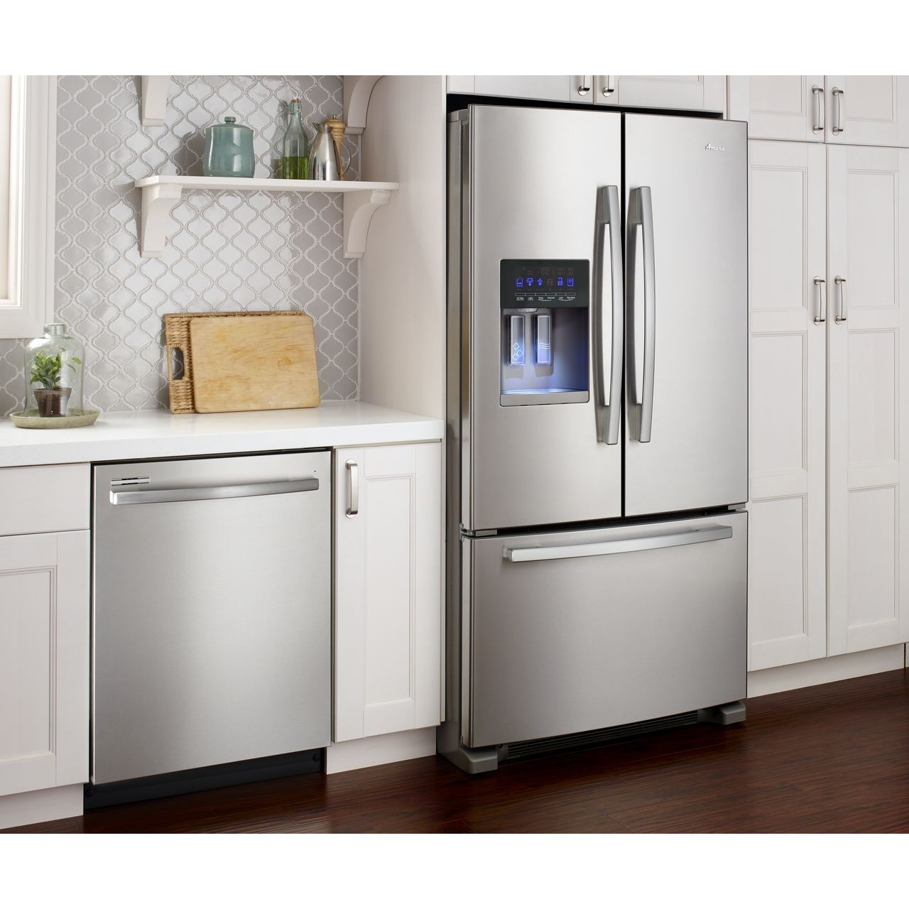 Luxury Refrigerators: Amana 25 Cu. Ft. French Door Refrigerator