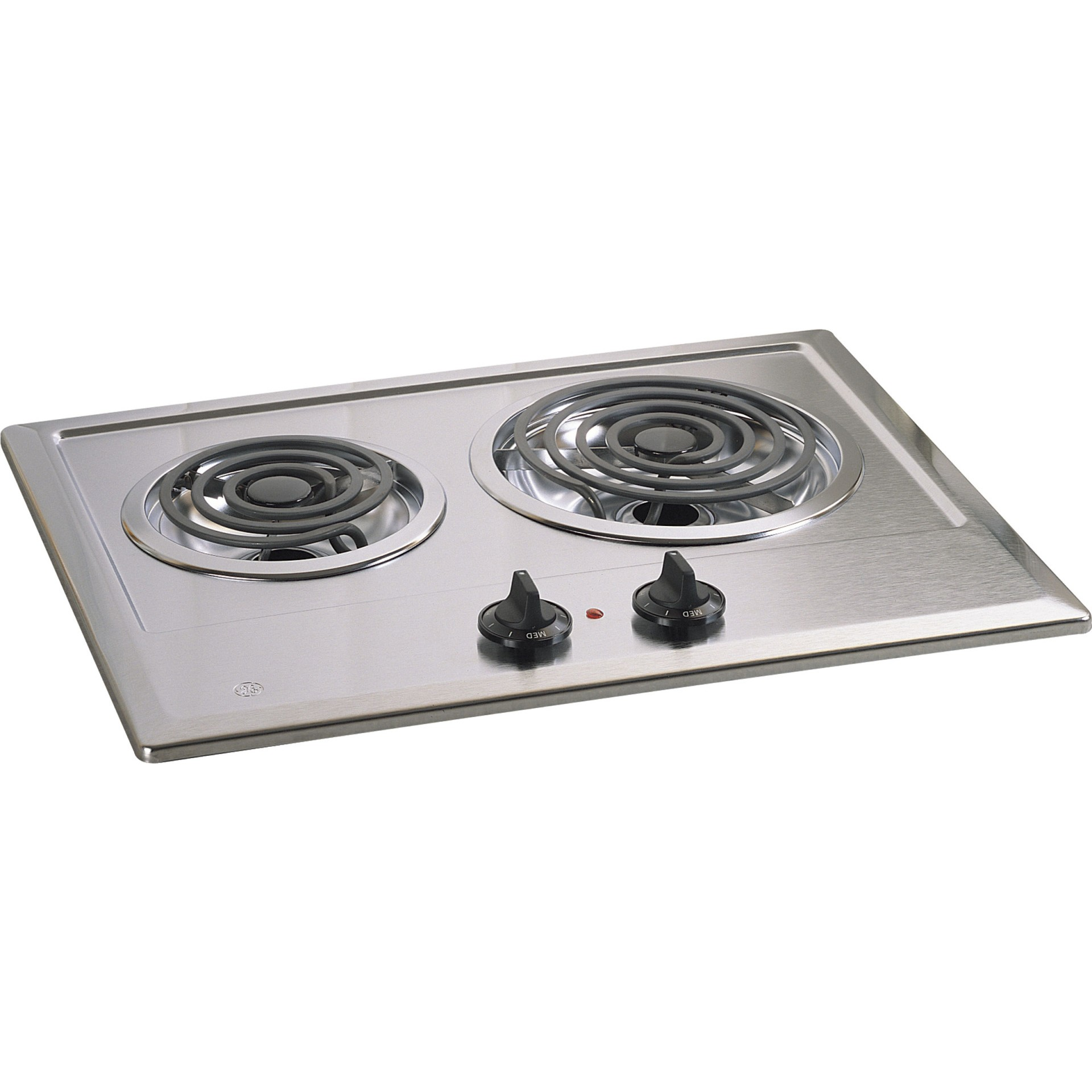 Jp201cbss Ge Built In Electric Cooktop Stainless Steel