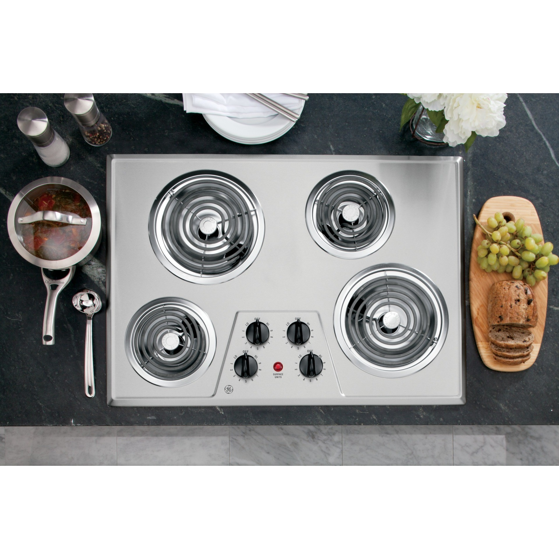 Jp328skss Ge 30 Quot Built In Electric Cooktop