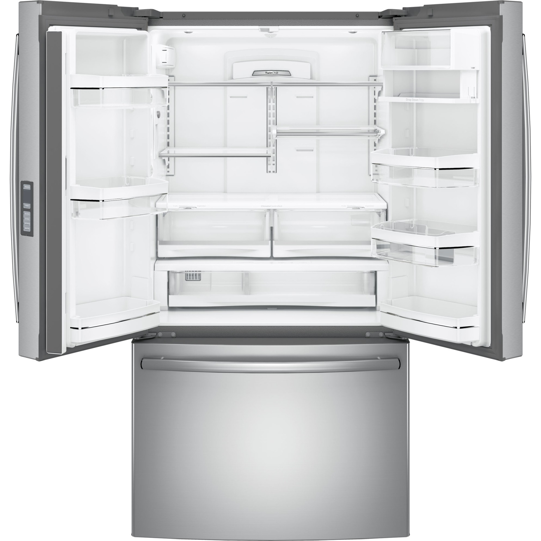 "GE Profile 36"" Counter Depth French Door Refrigerator - 23.1 Cu. Ft"