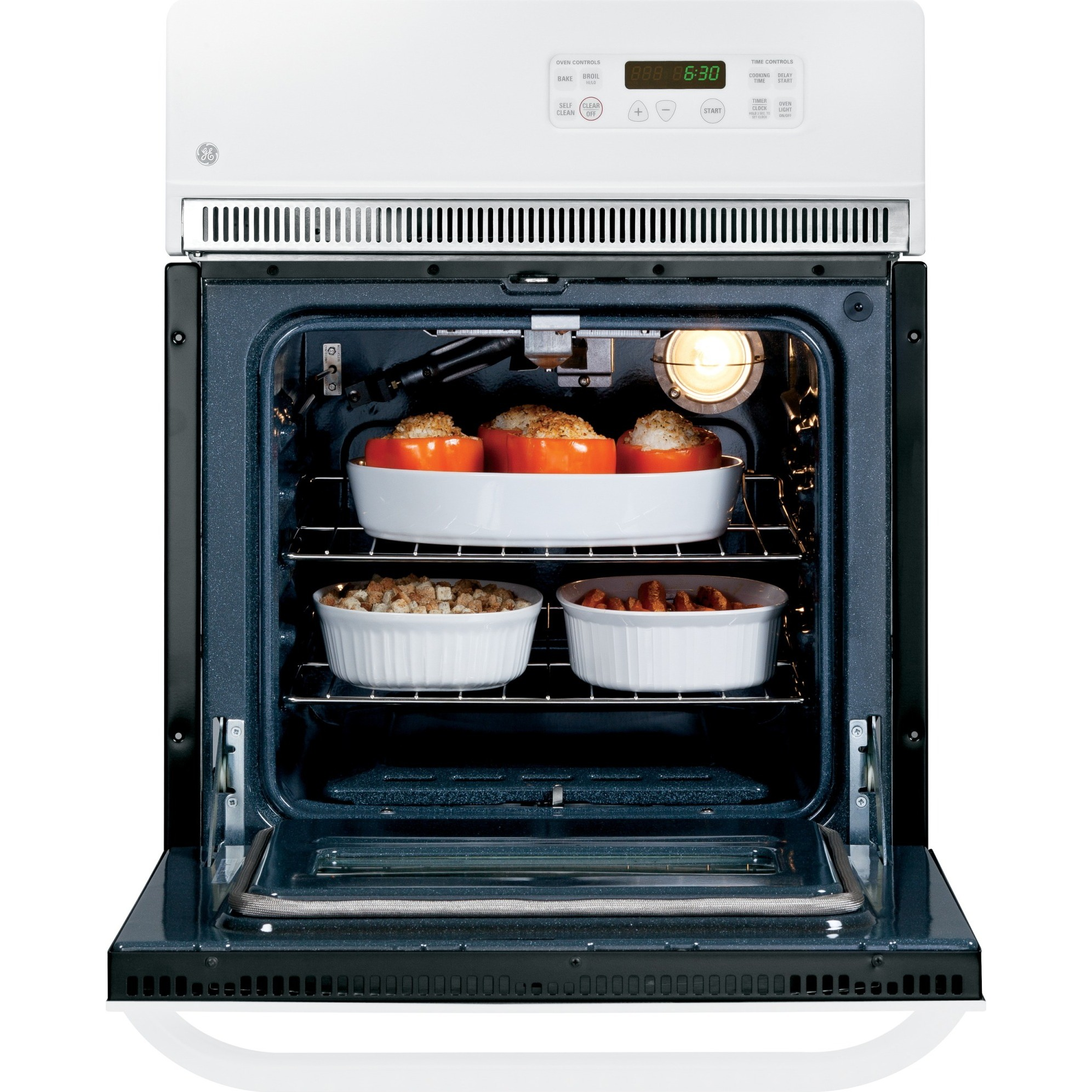 Jrp20wjww Ge 24 Electric Single Self Cleaning Wall Oven