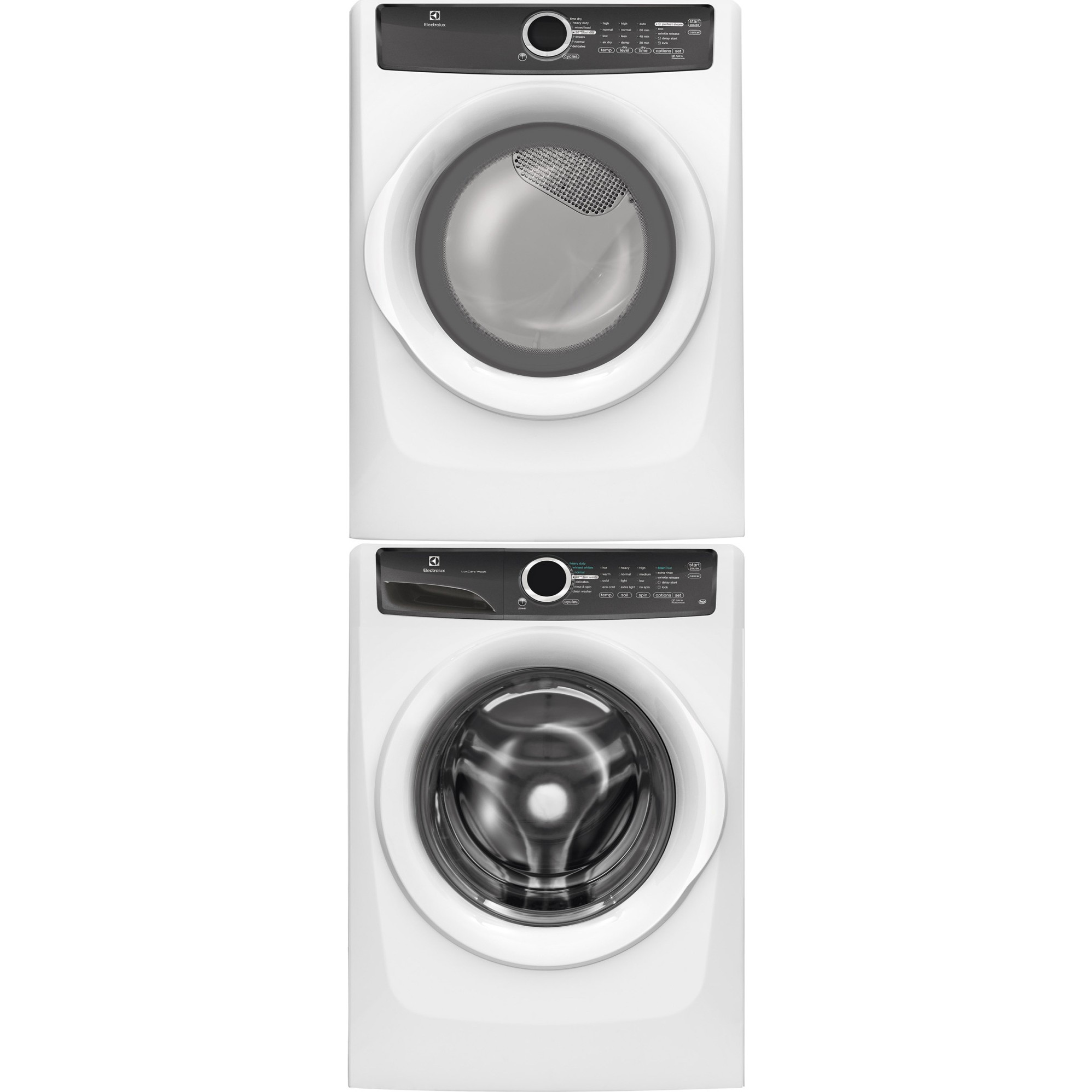 Electrolux eflw417siw front load washer efmg417siw gas Electrolux washer and dryer