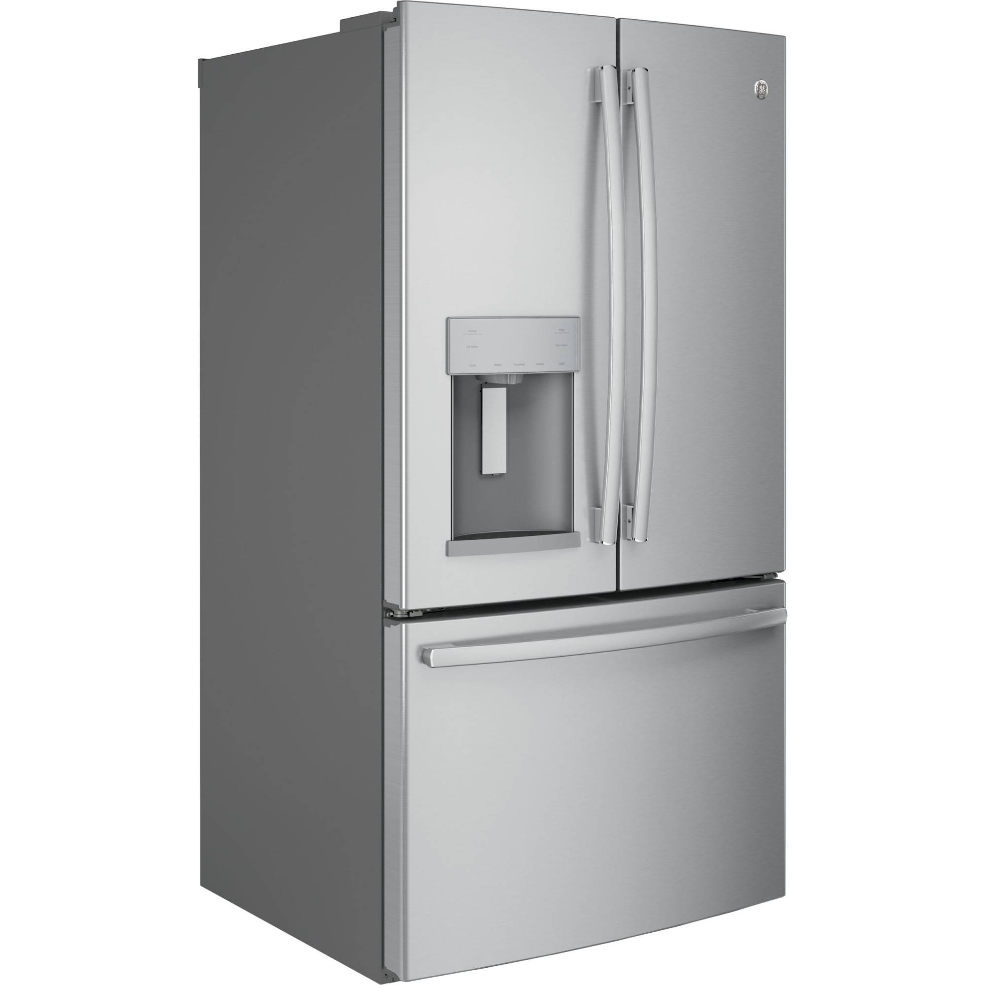 Gfe28gskss Ge 36 Quot 27 8 Cu Ft French Door Refrigerator