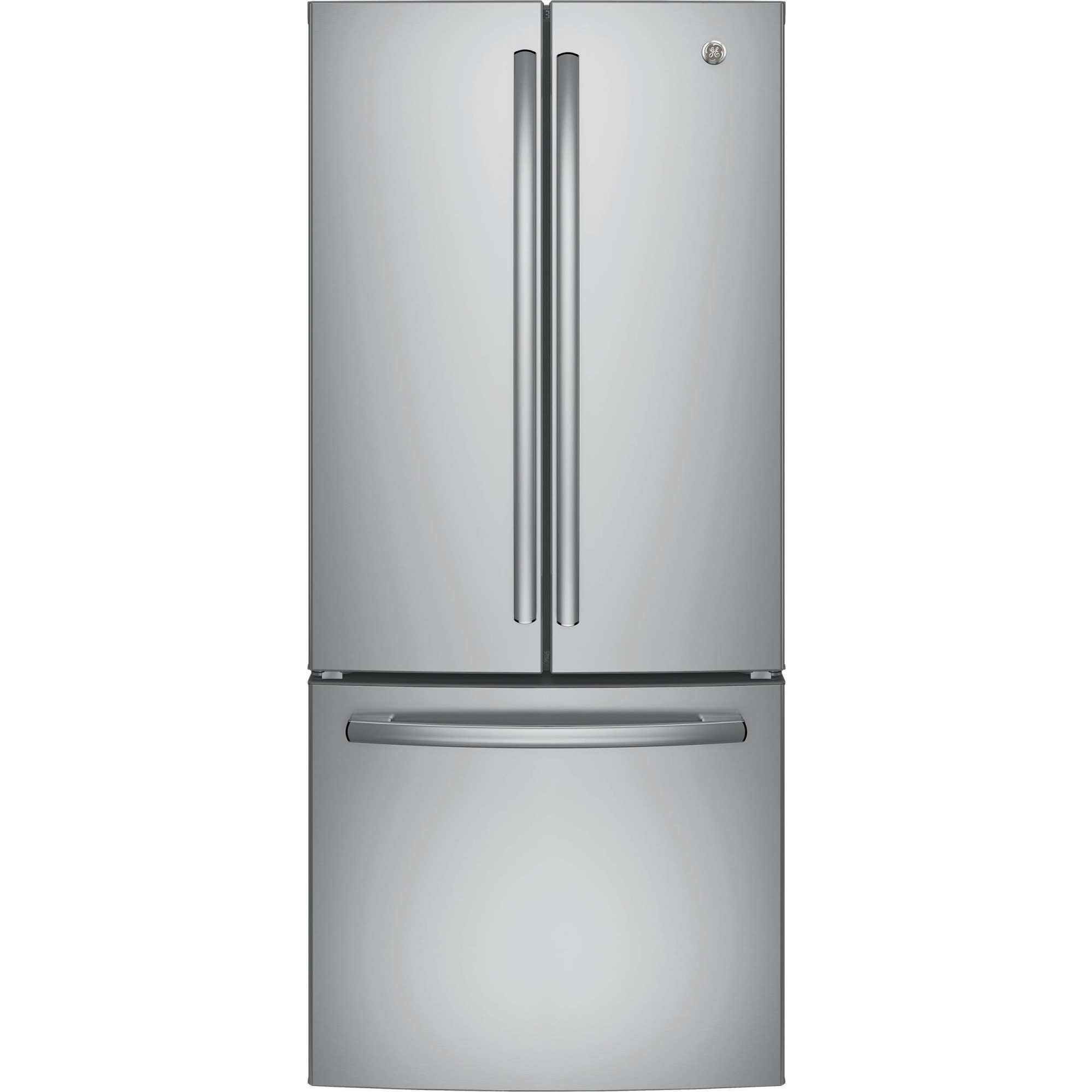 Gne21fskss Ge 30 Quot 20 8 Cu Ft French Door Refrigerator