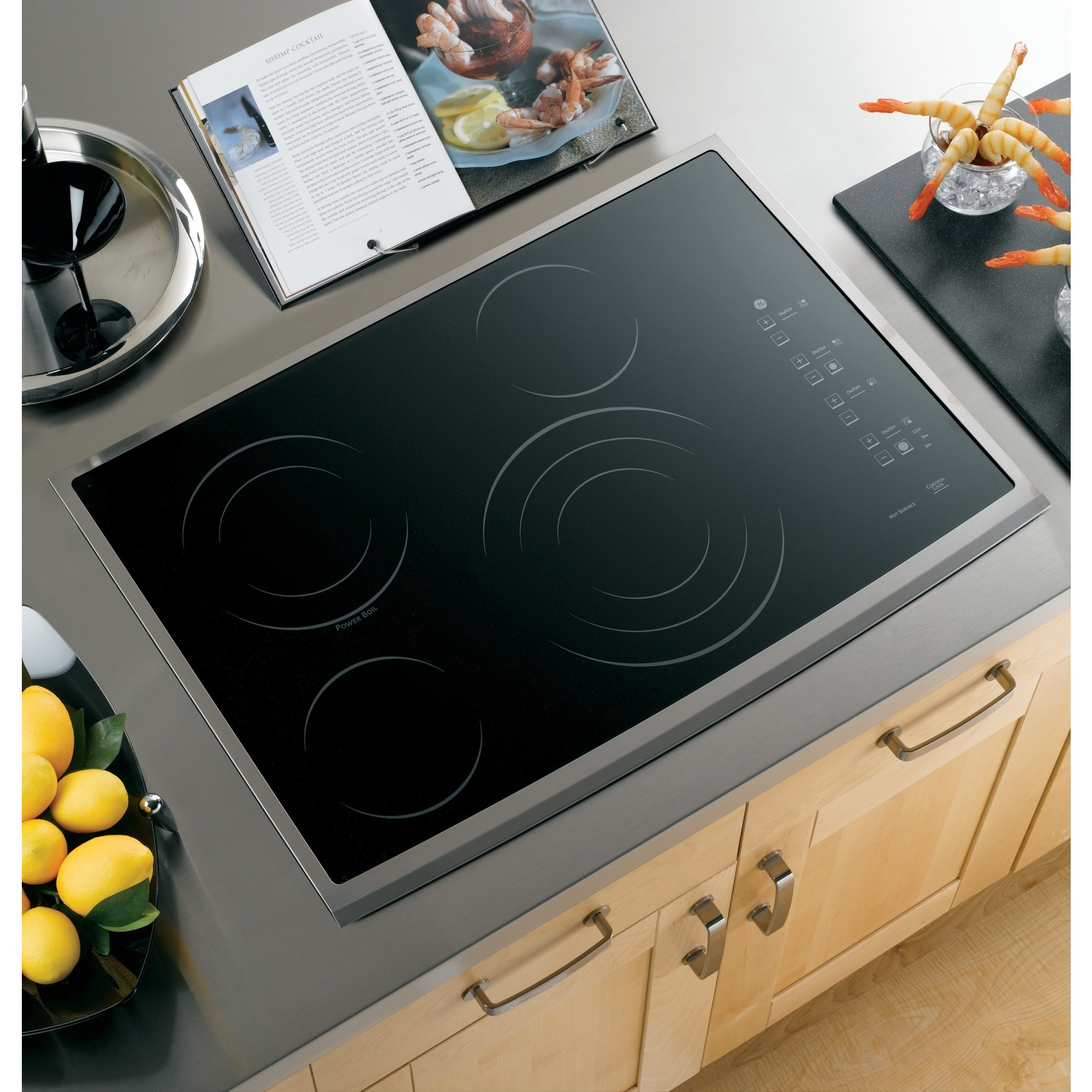 Ge Pp945smss 30 Quot Smoothtop Electric Cooktop Stainless