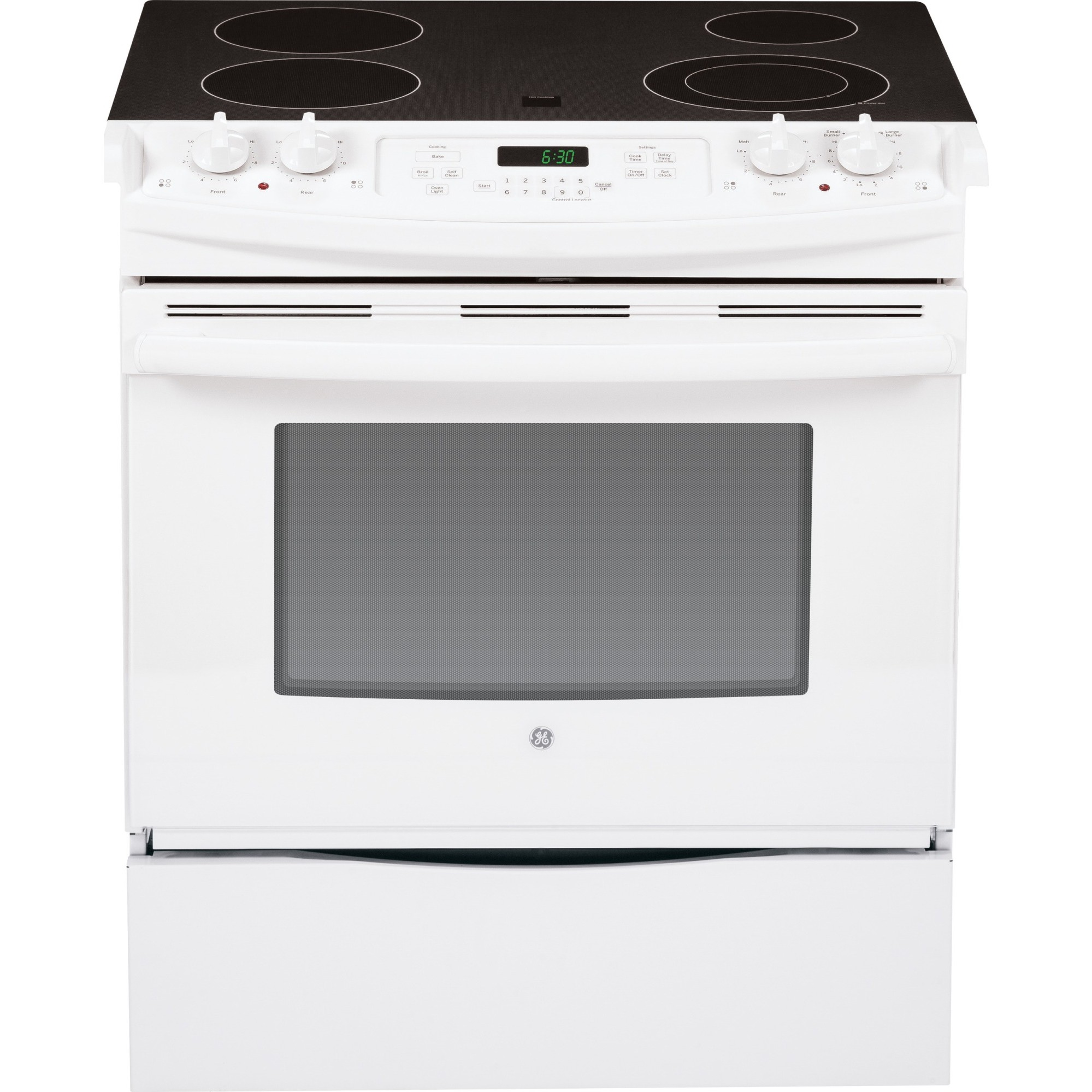 Js630dfww Ge 30 Quot Slide In Front Control Electric Range