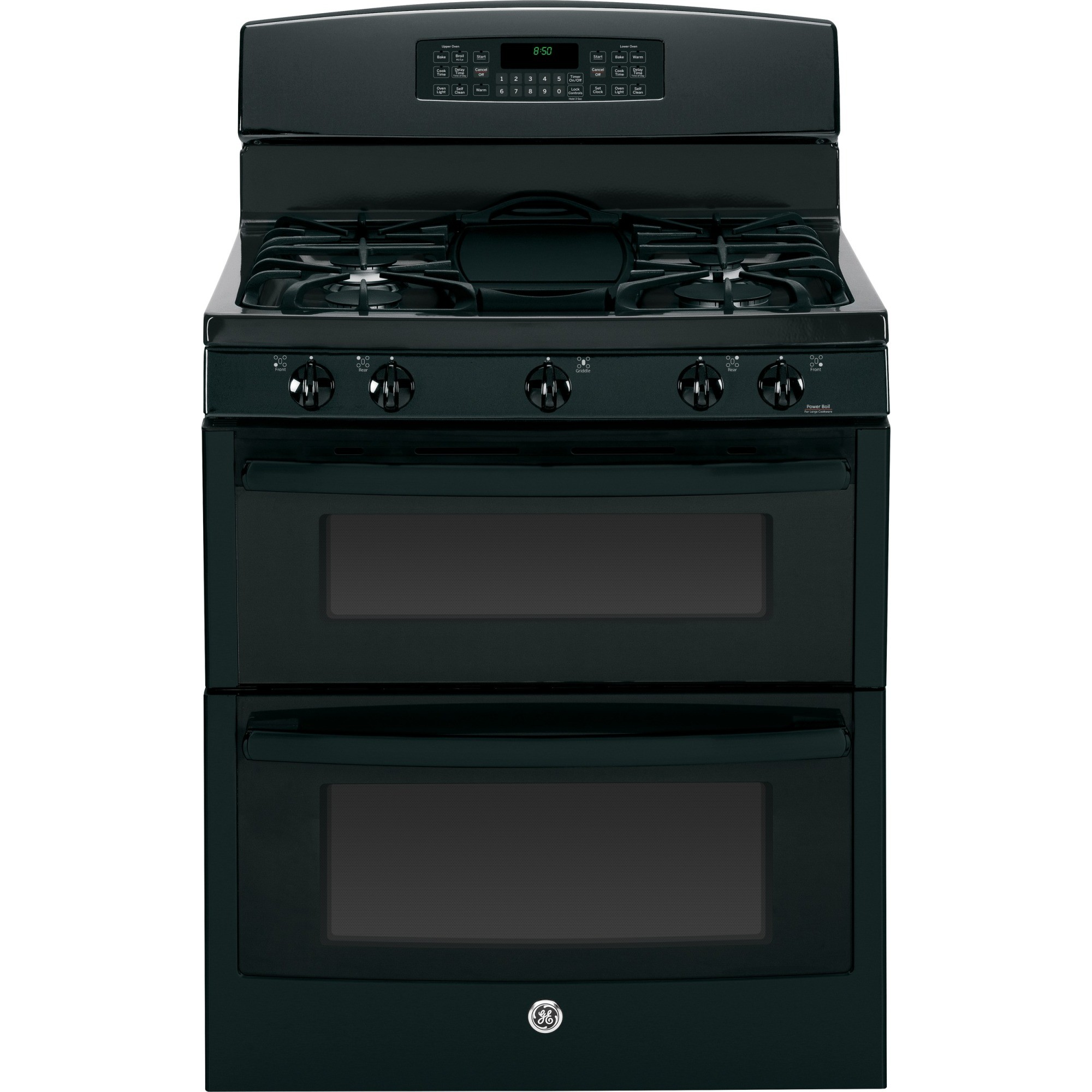 Jgb850defbb Ge 30 Free Standing Gas Double Oven Range