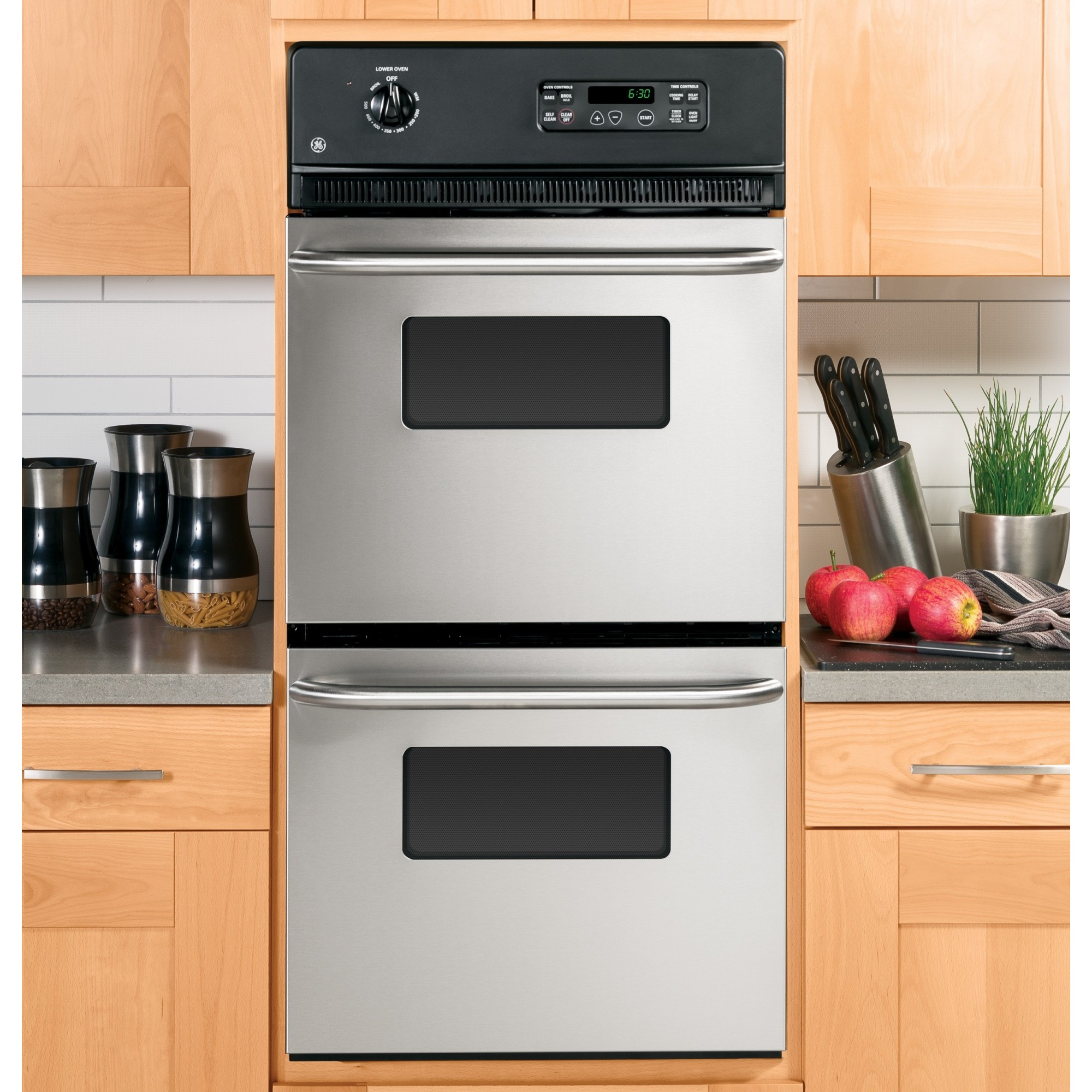 Jrp28skss Ge 24 Quot Double Wall Oven