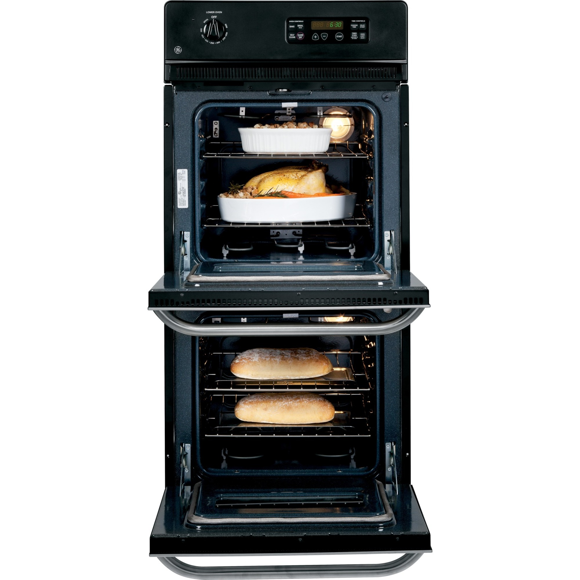 Jrp28skss Ge 24 Double Wall Oven