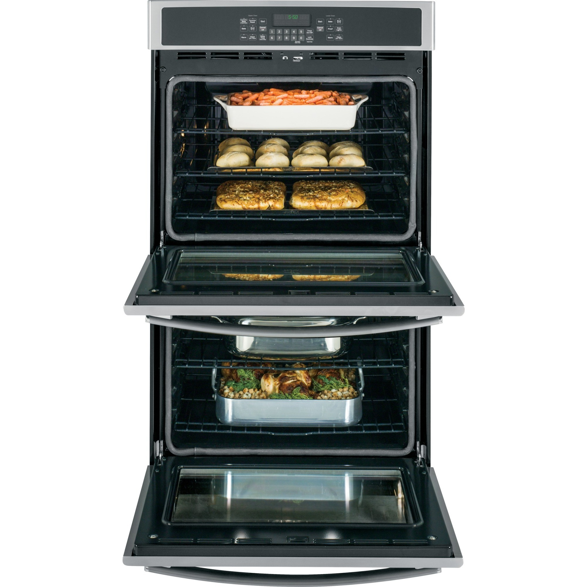 Jt5500sfss Ge 30 Quot Built In Double Wall Oven With Convection