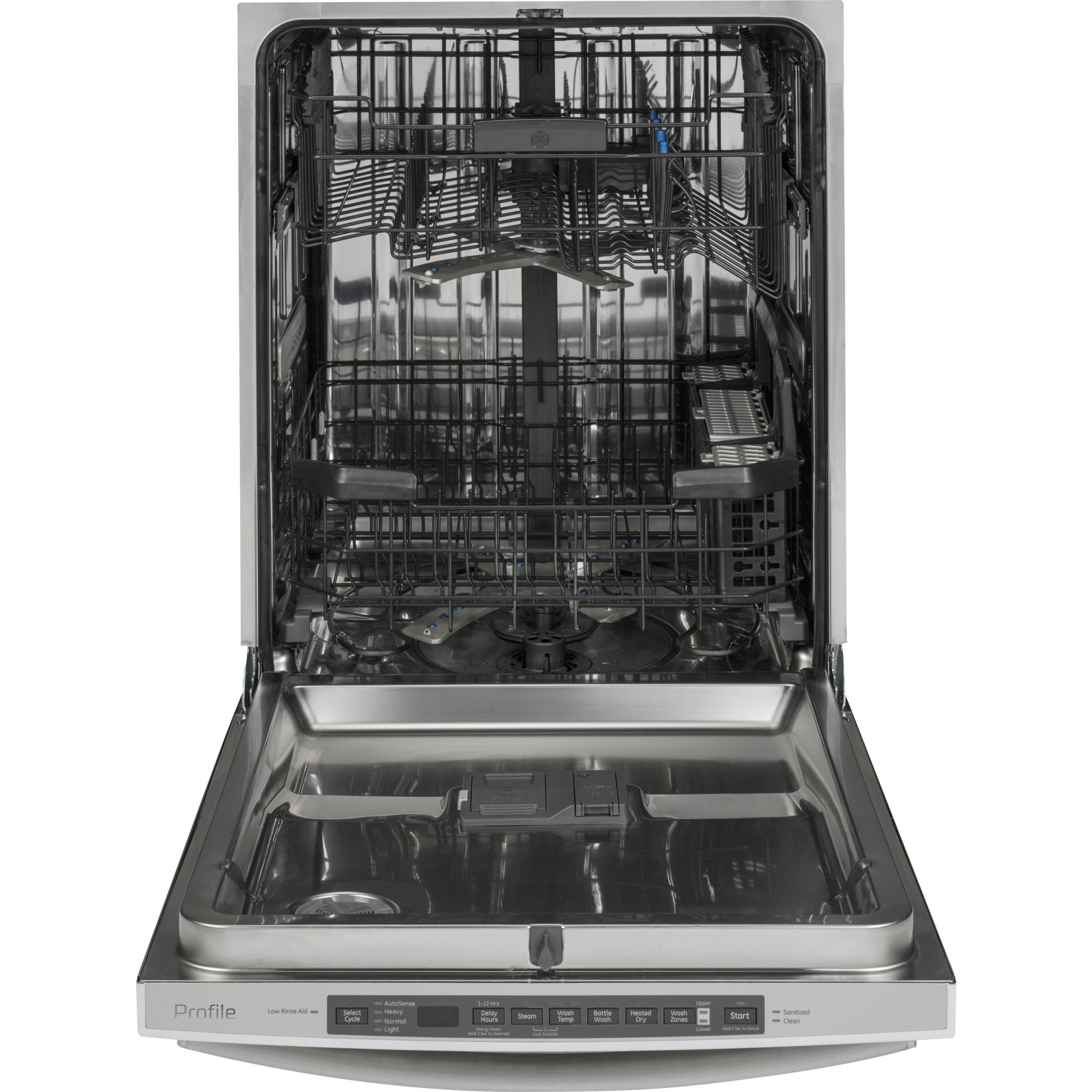 Pdt720sshss ge profile stainless steel interior - Dishwasher stainless steel interior ...