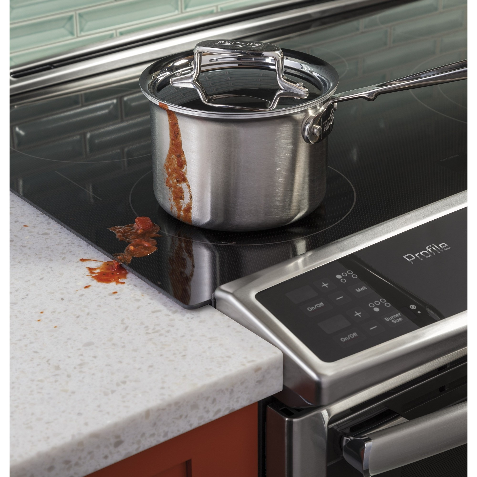"""Double Oven Slide In Electric Range Stainless Steel PS950SFSS   GE Profile Series 30"""" Slide-In Front Control ..."""