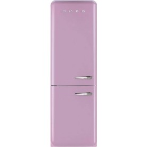 Smeg Fab32upkln Pink 50 39 S Retro Fridge Freezer Left Hinge