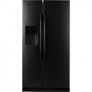 Samsung Rs2530bbp 25 Cu Ft Side By Side Refrigerator