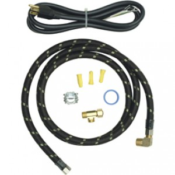 whirlpool 8212488rc 6 ft reinforced braid dishwasher hook up kit with cord. Black Bedroom Furniture Sets. Home Design Ideas