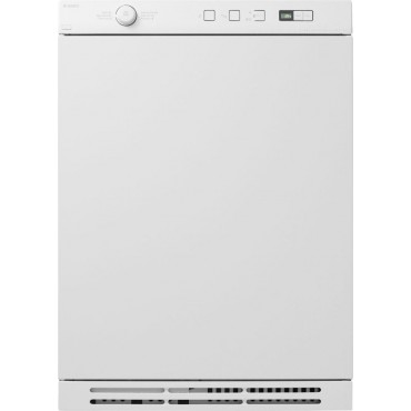 23 1 2 ventless electric dryer apartment size white condenser