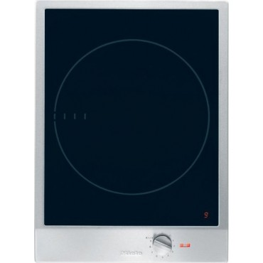miele cs1221i 15 induction cooktop 1 zone 12 power settings stainless steel knob. Black Bedroom Furniture Sets. Home Design Ideas