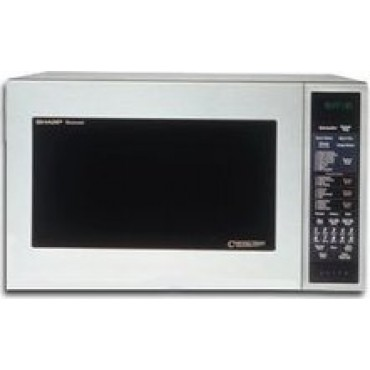 Sharp : R930AK 1.5 Cu. Ft. Countertop Microwave Oven with 900 Cooking ...