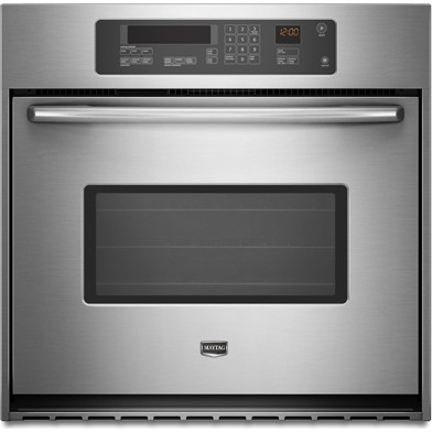 Maytag mew7530wds 30 single electric wall oven with 4 1 for Electric moving wall pictures
