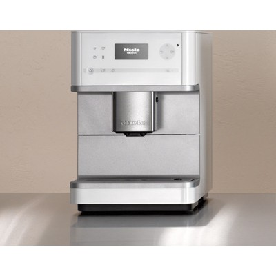 miele cm 6110 coffee system white. Black Bedroom Furniture Sets. Home Design Ideas