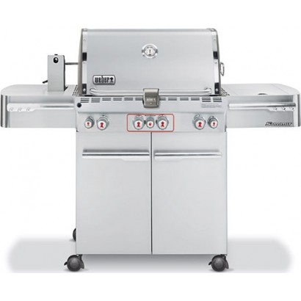 weber summit s470 propane grill stainless steel - Weber Summit S420