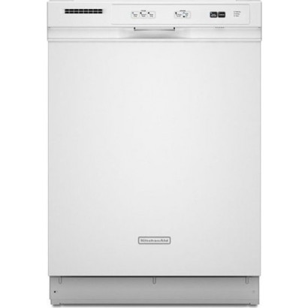 Kitchenaid Dishwasher White >> Kitchenaid Kudc03ivwh 24 Dishwasher White
