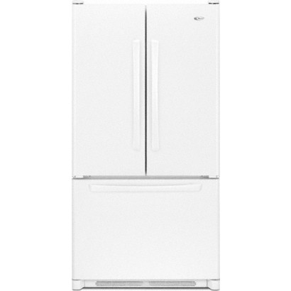 Freestanding French Door Refrigerator   White
