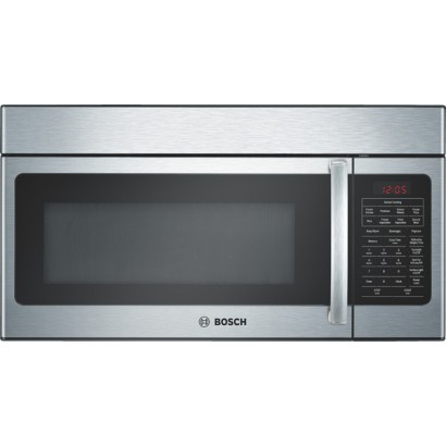 Bosch hmv5051u 1 7 cu ft over the range microwave oven - Red over the range microwave ...