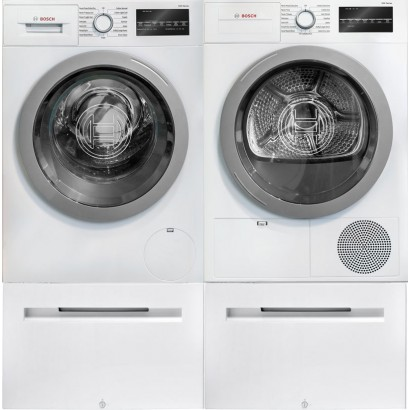 Bosch Wat28401uc Front Load Washer Amp Wtg86401uc Electric
