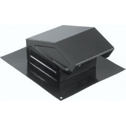Broan 636 Steel Roof Cap For 3 Quot Or 4 Quot Round Duct Black