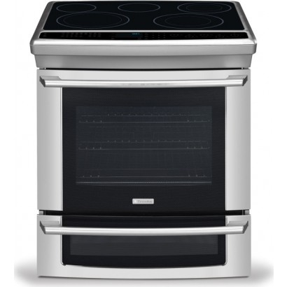ei30es55js electrolux 30 slide in electric range iq touch controls stainless steel. Black Bedroom Furniture Sets. Home Design Ideas
