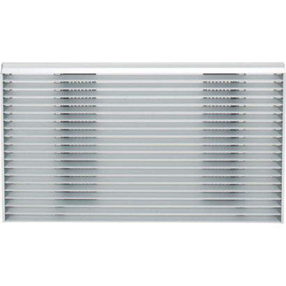 rag14e ge architectural louvered ext grille j seri   white