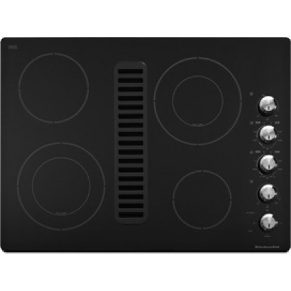Exceptional KitchenAid KECD807XBL Architect II Series Electric Cooktop   Black