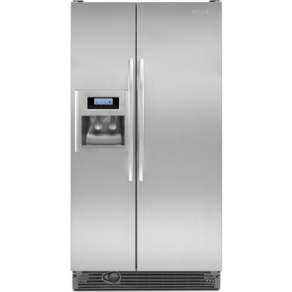 Kitchenaid Ksrv22fvms 21 6 Cu Ft Side By Side