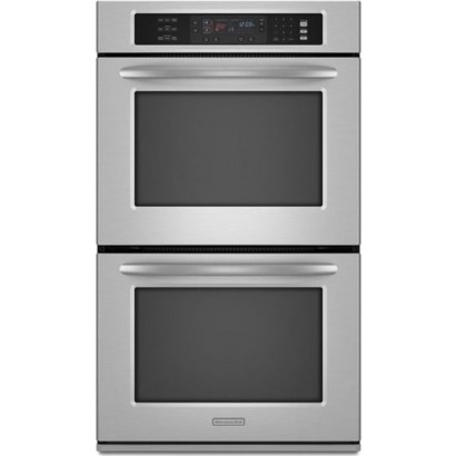 Kitchenaid Kebs277sss 27 Double Electric Wall Oven With Even Heat