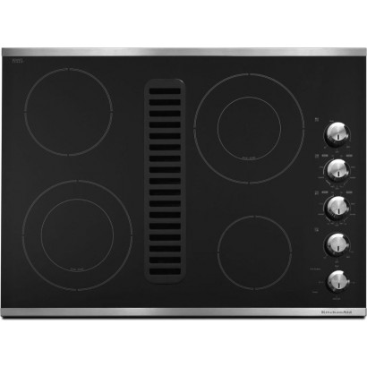 Kitchenaid Kecd807xss 30 Quot Smoothtop Electric Cooktop With