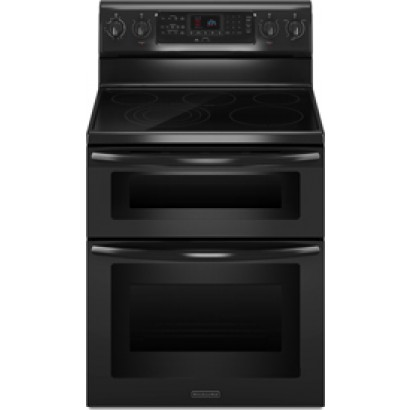 Kitchenaid Kers505xbl 30 Quot Freestanding Electric Range With