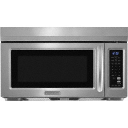 Awesome KitchenAid KHMS1850SSS 1.8 Cu. Ft. Over The Range Microwave Oven With 1,000  Cooking Watts, ...