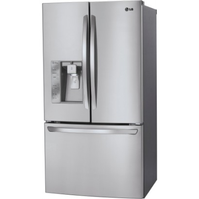 cu lg makers ft refrigerator door with dual ice french