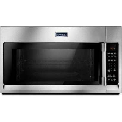 Over The Range Microwave Stainless Steel Interior