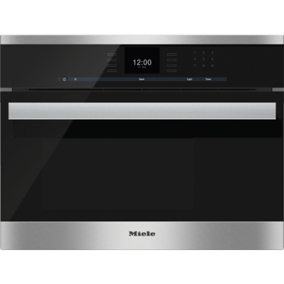 miele dg6600 24 steam oven pureline sensortronic controls silhouette handle. Black Bedroom Furniture Sets. Home Design Ideas