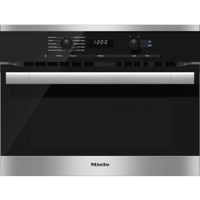 miele h6100bm 24 speed oven contourline directselect controls comfort handle. Black Bedroom Furniture Sets. Home Design Ideas